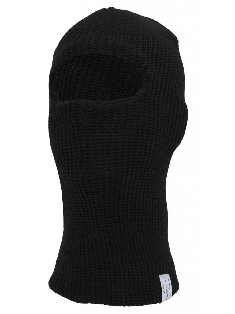 TopHeadwear Ski Mask One Eye Hole, Black by TOP HEADWEAR