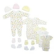 Bambini Newborn Baby Shower Layette Gift Set, 12pc (Baby Girls)