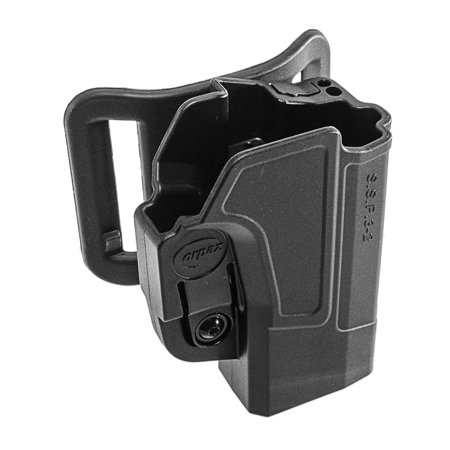 Orpaz Glock 19 Left Hand Belt Holster Fits Also Glock 17, 22, 23, 26, 27,