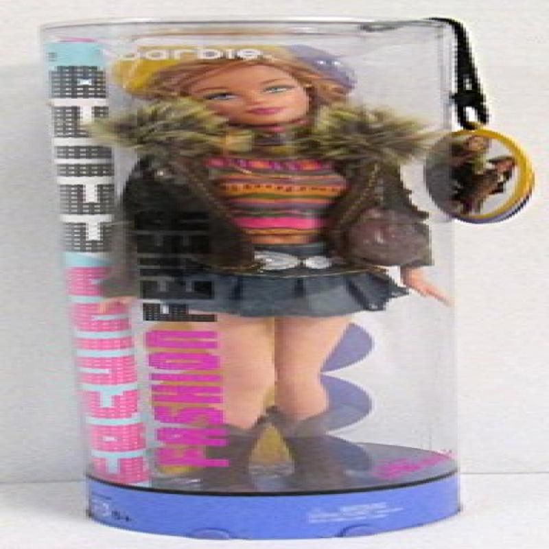 Mattel Barbie Fashion Fever Doll: Barbie w/Multi-Colored ...