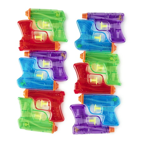 Play Day Mini Water Guns, Pack of 12](Pirate Water Pistol)