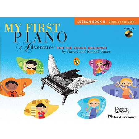 My First Piano Adventure, Lesson Book B : Steps on the Staff: For the Young