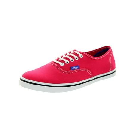 Vans Unisex Authentic Lo Pro (Pop) Skate Shoe](Vans Pink Flamingo)