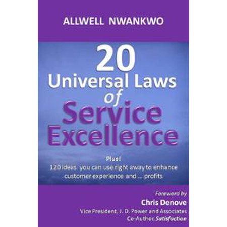 20 Universal Laws of Service Excellence - eBook