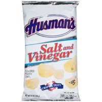 Husmans Salt and Vinegar Flavored Potato Chips 9.5 Oz.