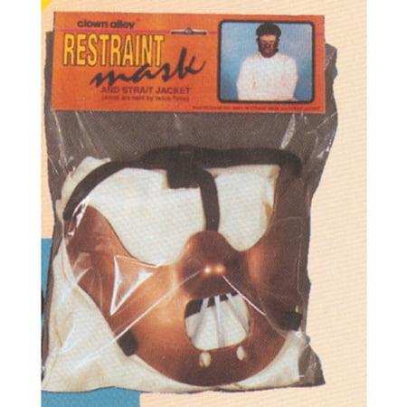 Restraint Mask Adult Halloween Accessory (Best Homemade Halloween Mask)