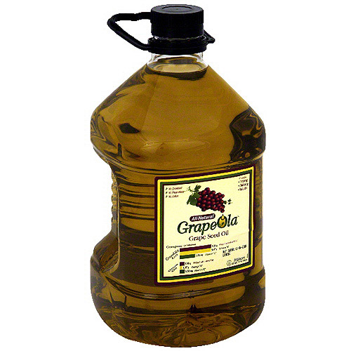 Grapeola All Natural Grape Seed oil, 101 oz (Pack of 6)
