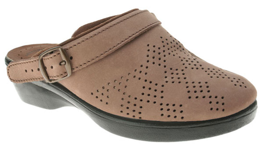 Flexus Women's 42 PRIDE Dress Clogs TAN 42 Women's M EU 10.5-11 M 9dae7c