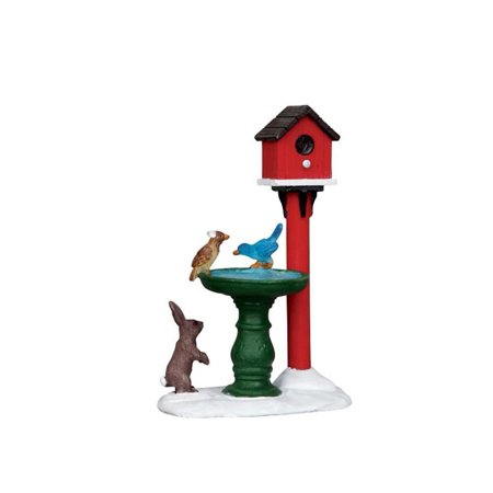 Deer Fountain #14355, From the wonderful world of Lemax these figurines and accessories make your holiday village tabletop town spring to life By Lemax Village Collection Ship from US ()