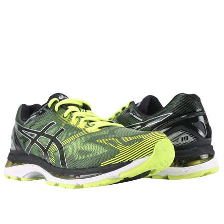 finest selection 07c93 7841f Asics Gel-Nimbus 19 Black/Safety Yellow/Silver Men's Running Shoes  T700N-9007