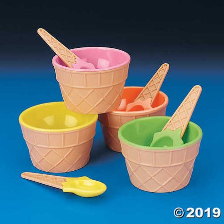 IN-26/2047 Ice Cream Dishes Per Dozen