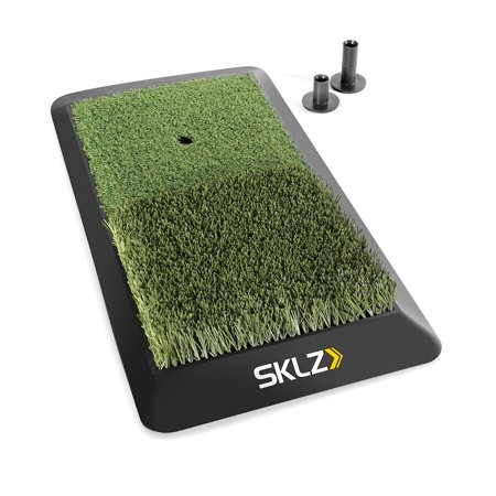 SKLZ Launch Pad Golf All Purpose Hitting Mat For Tee Fairway & Rough
