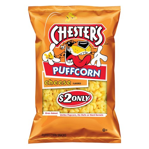 Chesters Cheese Puffcorn Jumbo 8.75oz