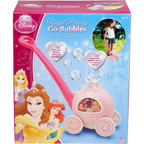 Disney Princess Royal Bubble Carriage