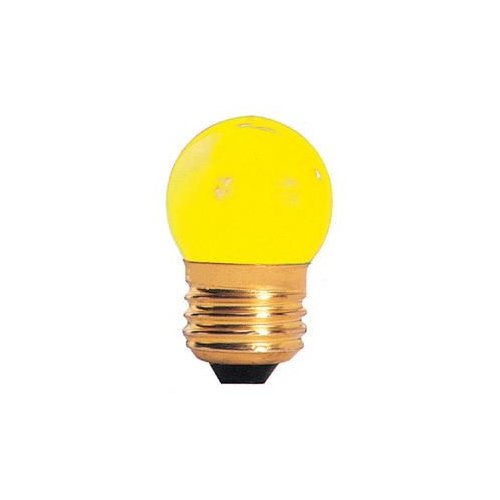 Bulbrite Industries Specialty 7.5W Yellow String Replacement Light Bulb by Bulbrite Industries