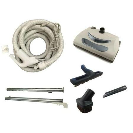 Vacuflo TurboCat Central Vac Power Head Kit with Replacement Hose New Set