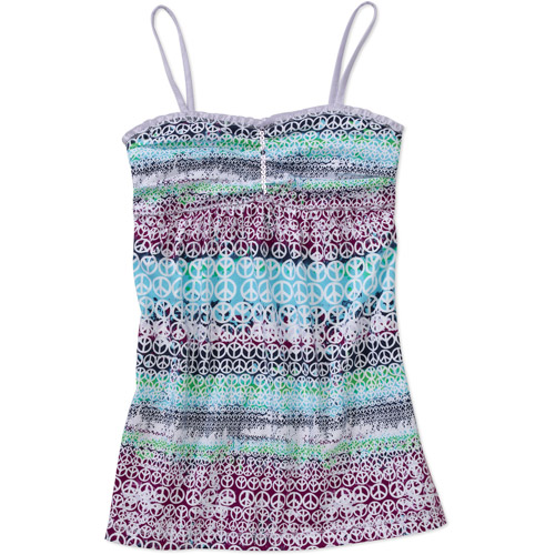 Faded Glory - Girls' Bandeau Babydoll Top