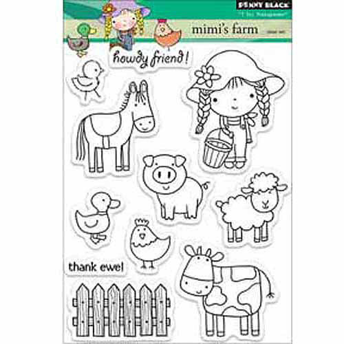 """Penny Black Clear Stamps, 5"""" x 6-1/2"""""""