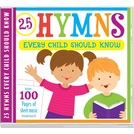25 Hymns Every Child Should Know : 25 Hymns Sung by Kids with More Than 100 Pages of Printable Sheet - Halloween Activity Sheets Printables