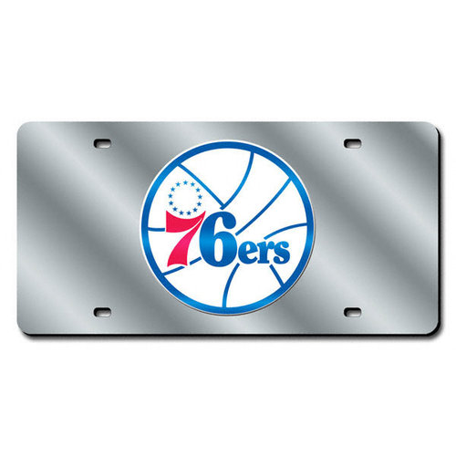 NBA - Philadelphia 76ers License Plate Laser Tag