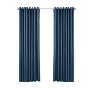 eccomum Pergola Outdoor Drapes,Blackout Patio Outdoor Curtains,Waterproof Outside Decor with Rustproof Grommet for Pergola/Porch(2 Panel,52''W*95''L)