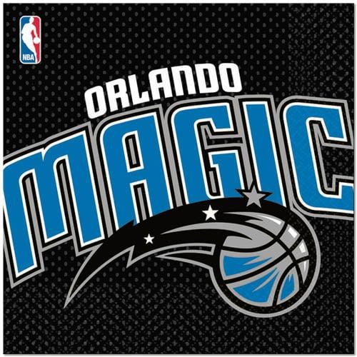 Amscan 203664 Orlando Magic Basketball - Lunch Napkins