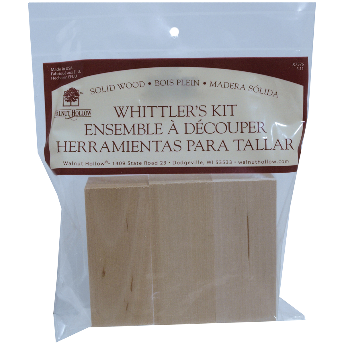 Basswood Whittler's Kit 3pc
