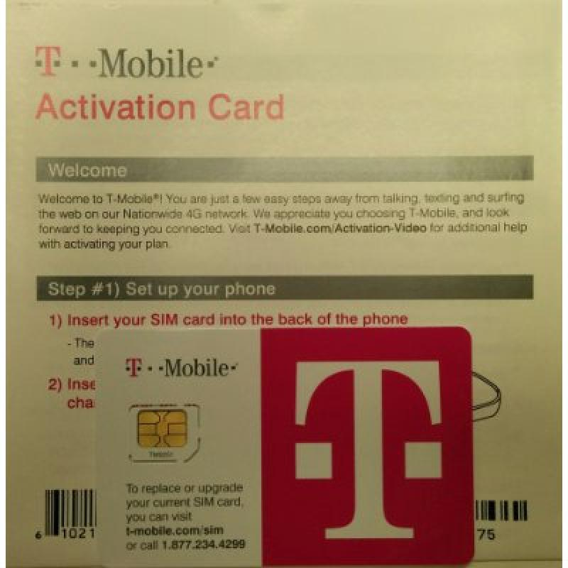 Product Features Complete SIM Kit that can be used with any T-Mobile andries.ml Ratings & Reviews · Shop Best Sellers · Fast Shipping · Deals of the Day2,,+ followers on Twitter.