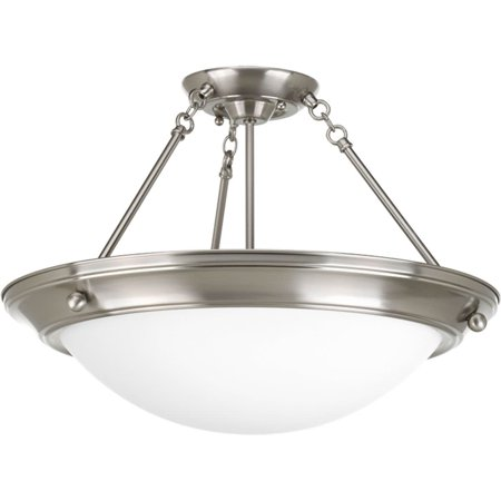 Eclipse Collection Four-Light 27-3/8u0022 Close-to-Ceiling