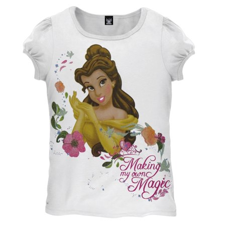 disney princess belle magic juvy girls t shirt. Black Bedroom Furniture Sets. Home Design Ideas
