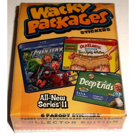 2013 Wacky Packages All New Series 11 Complete 55 Sticker Set