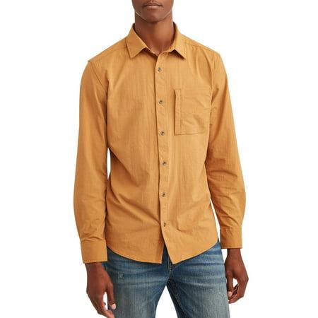 Swiss+ Tech Mens long sleeve outdoor woven shirt, up to 5xl