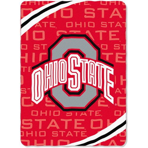 NCAA Ohio State Buckeyes Fleece Blanket