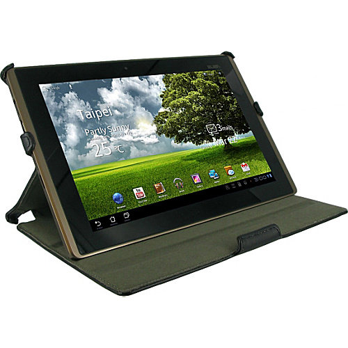 rooCASE Slim-Fit Folio Case with Adjustable Angles for Asus EEE Pad Transformer TF101
