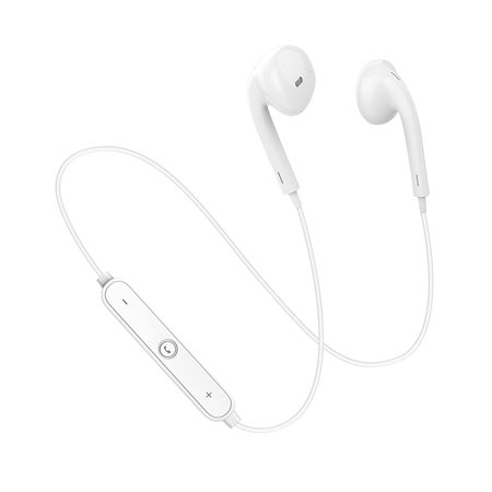 Alcatel Fierce XL Bluetooth Headset In-Ear Running Earbuds IPX3 Water Resistant with Mic Stereo Earphones, CVC 6.0 Noise Cancellation, works with, Samsung,Google Pixel,Lg