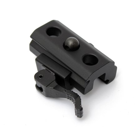 Quick Release QD Bipod Sling Adapter Mount For 20mm Scope Picatinny Rail (Picatinny Adaptor)