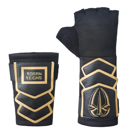 Official WWE Authentic Roman Reigns Gold Replica Glove Set (2016) gold