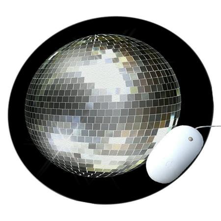 KuzmarK Round Mousepad / Hot Pad / Trivet - Mirror