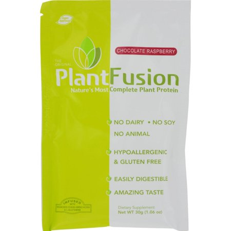 Plantfusion Chocolate Raspberry Packets - Pack of 12 - 30 Grams - image 1 of 1