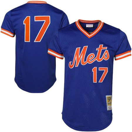 Keith Hernandez New York Mets Mitchell & Ness Cooperstown Mesh Batting Practice Jersey - Royal -