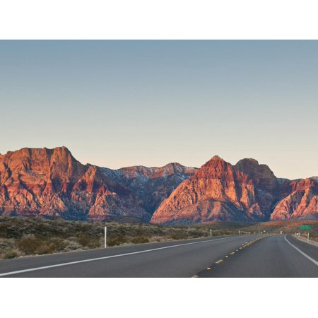 Red Rock Canyon Outside Las Vegas, Nevada, United States of America, North America Print Wall Art By Michael DeFreitas