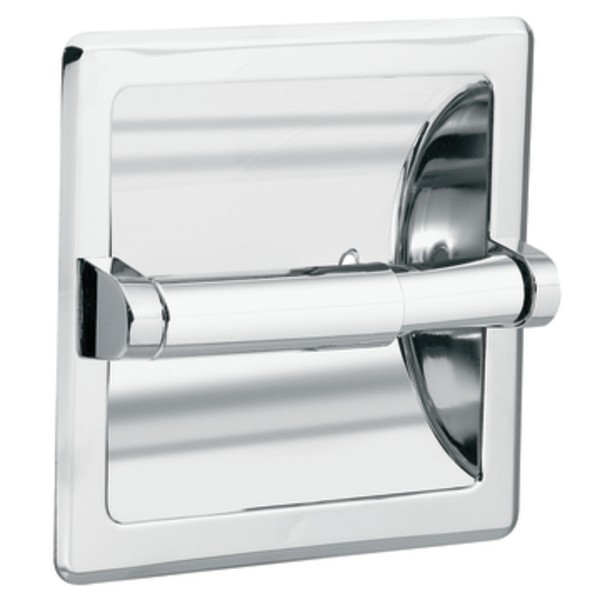 Moen DN5075 Recessed Toilet Paper Holder from the Donner Commercial Collection