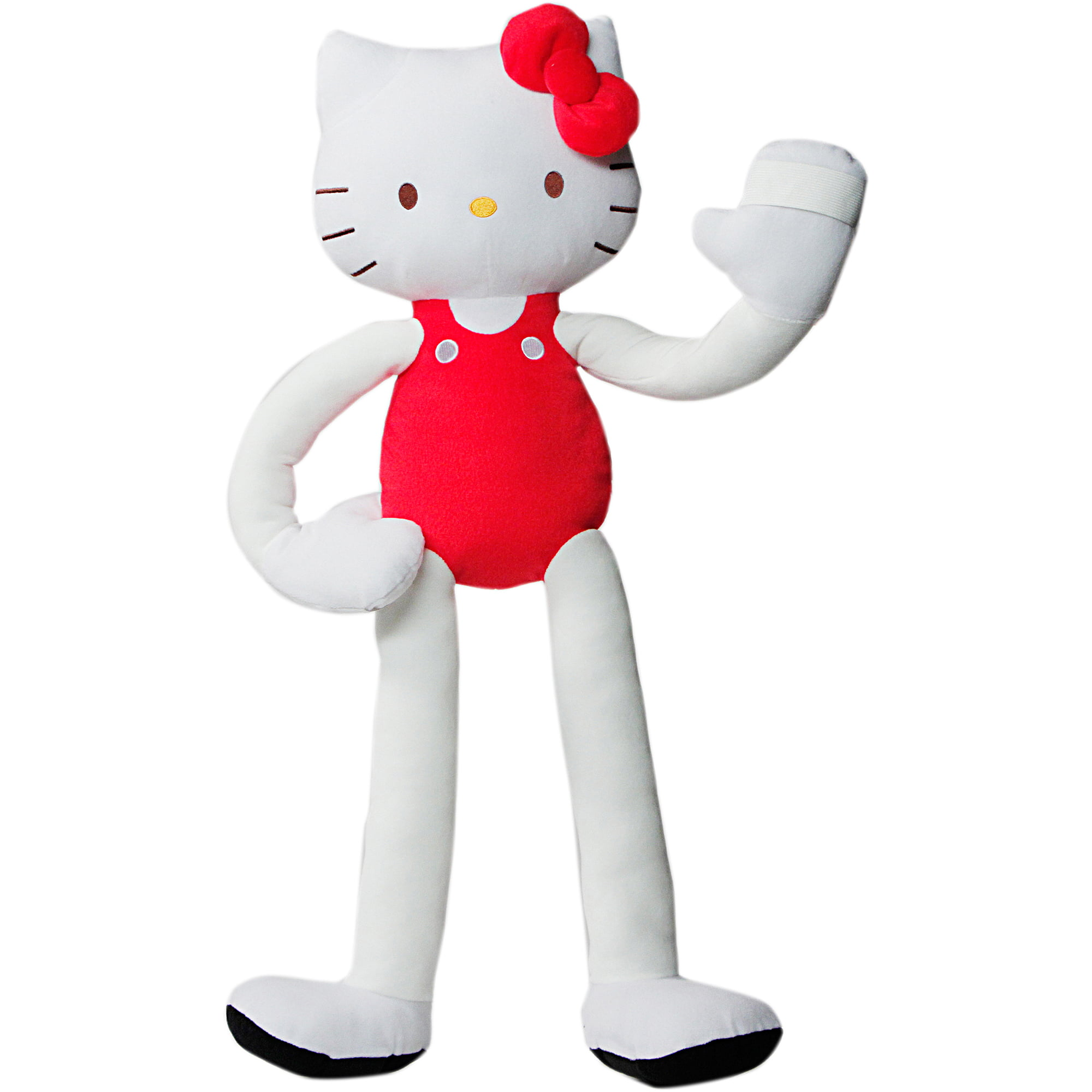 As Seen on TV Stretchkins Plush Hello Kitty, Red by Stretchkins