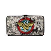 Size one size Women's Wonder Woman Hinged Card Case Wallet