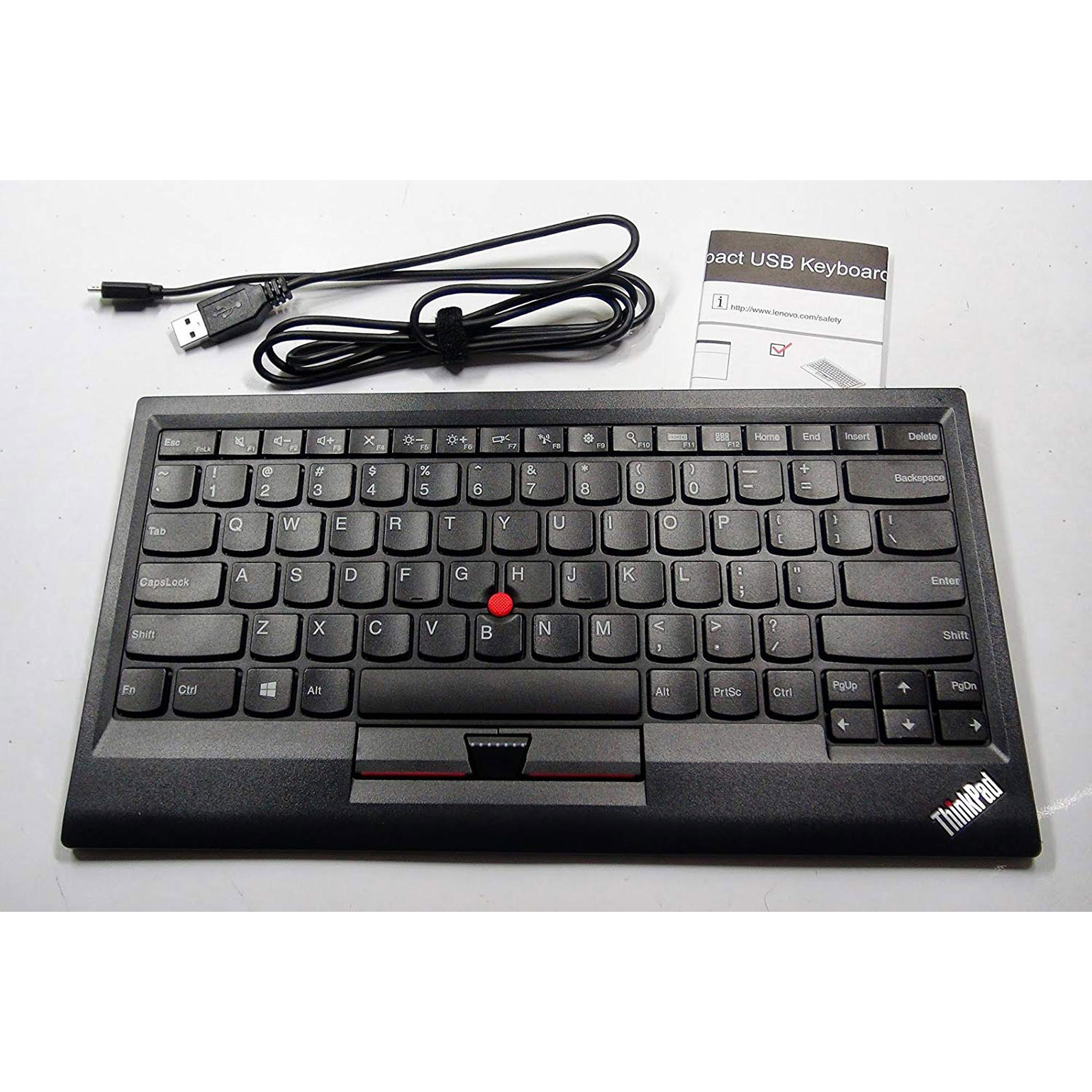 Lenovo ThinkPad Wired USB Keyboard with TrackPoint