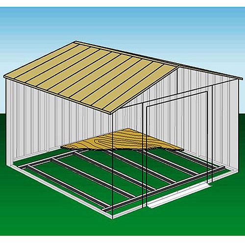 Arrow Foundation Kit for Arrow Steel Shed, 10x12 or 10x14