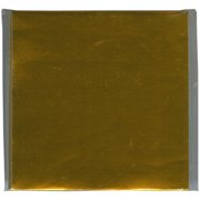 "Origami Paper 3""X3"" 100 Sheets-Gold Foil"
