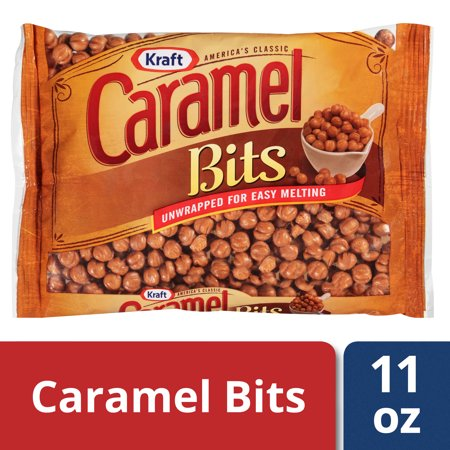 Kraft Caramel Bits, 11 oz Wrapper - Halloween Chocolate Caramel Apples