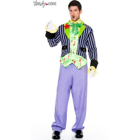 Men's Bloody Joker Costume