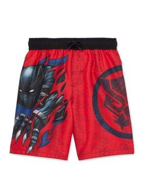 Dreamwave Marvel Avengers Black Panther Boys' Swim Trunks